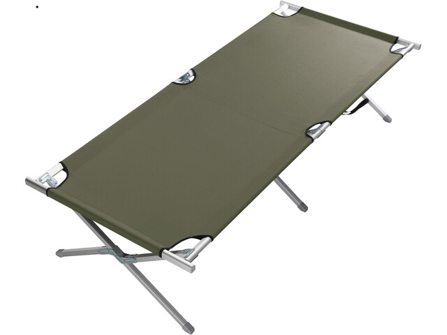Grand Canyon Alu Camping Bed Extra Strong L Olive
